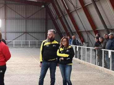 couple dans la vie, partenaires sur le terrain, Carole et Olivier Perlot