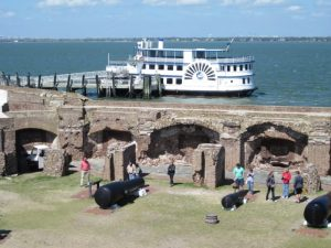 Ferry at Fort Sumter