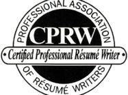 Certifed professional resume writer