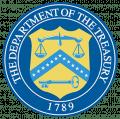US - Department of Treasury Logo