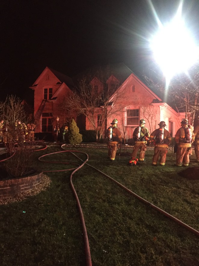 Two Alarm House Fire Displaces Family of Five