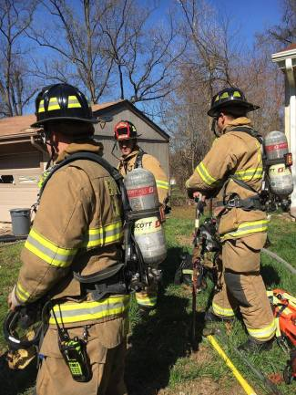 Out Of Recruit School And Into The House Fire