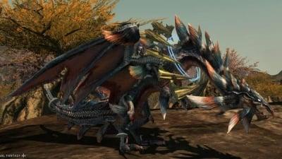 Twintania Mount Final Fantasy XIV A Realm Reborn Wiki