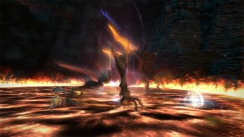 The Bowl Of Embers Extreme Final Fantasy XIV A Realm Reborn Wiki FFXIV FF14 ARR