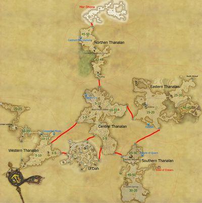 Thanalan Final Fantasy XIV A Realm Reborn Wiki FFXIV FF14 ARR Community Wiki And Guide