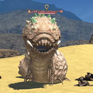 Giant Sandworm Gamer Escape