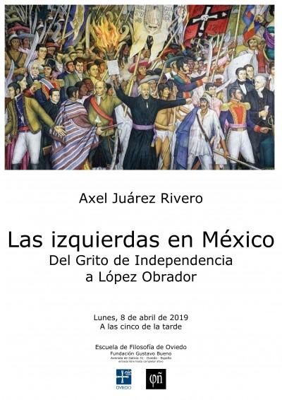 cartel para este acto de la Escuela de Filosofía de Oviedo