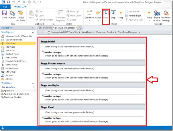 Criando Workflows Complexos no SharePoint Designer 2013 (3/6)