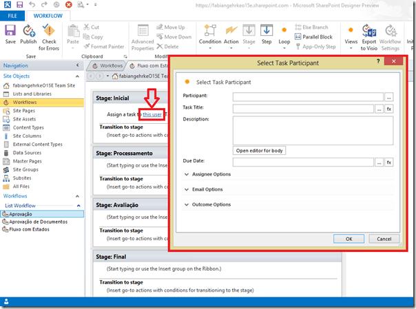 Criando Workflows Complexos no SharePoint Designer 2013 (5/6)