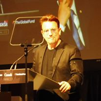 Bono, founder of (RED)