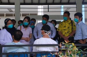 FGFJ Diet  Task Force members  listened to TB patients at Persahabatan Hospital