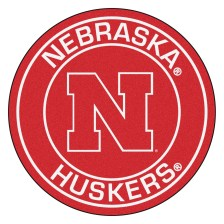 university-of-nebraska-cornhuskers-roundel-27inch-round-area-rug