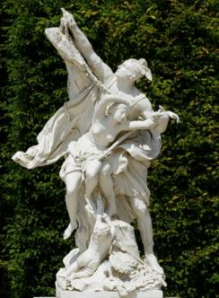 Statue de Persée et Andromède
