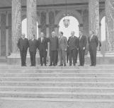 Visite de Richard Nixon, en 1969 ©Archives nationales (France) /Service photographique de la Présidence