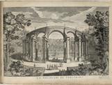 Vue du bosquet de la Colonnade dans les jardins de Versailles vers 1715, Nicolas de Fer