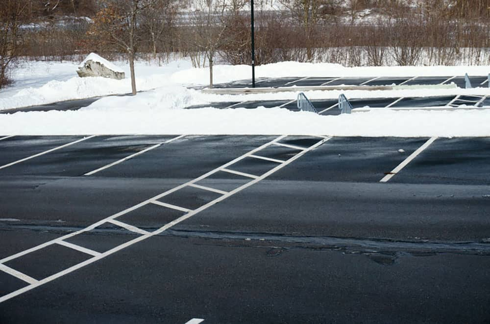 Parking Lot Snow Removal and Salting - FGK Services
