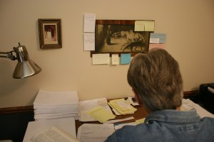 Final Touches to Book III, June 21, 2012