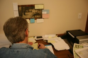 Working on the Eighth Draft, June 21, 2012