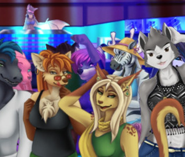 Furry Beach Club In This Game Which Is Something Like A Dating Simulator You