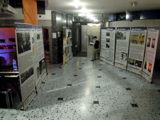 Teile der Ausstellung, die für Bunker-Rock entwickelt wurde.
