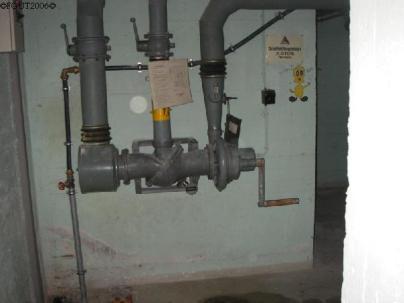 Das Lüftungssystem war elektrisch betrieben, konnte bei Stromausfall aber auch manuell bedient werden.