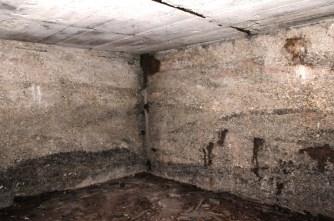 Der Raum hatte eine Fläche von ca. 25 qm.