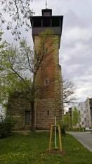 Der Burgholzhofturm von Nordosten aus gesehen