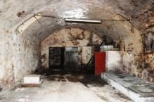 Die Räume waren mehrfach durch Ein- und Umbauten verändert worden.