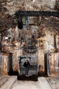 Die Gewölbekeller waren bis zu sechs Meter hoch.