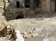 Assoziationen an Pompeiji: Der Abbruch machte die labyrintischen Verzweigungen der Keller sichtbar.