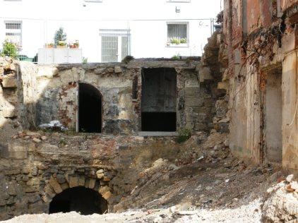 Die Bauarbeiten waren anspruchsvoll: Das Areal grenzte eng an bestehende Wohnbebauuung.