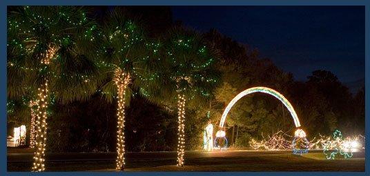 christmas lights in charleston