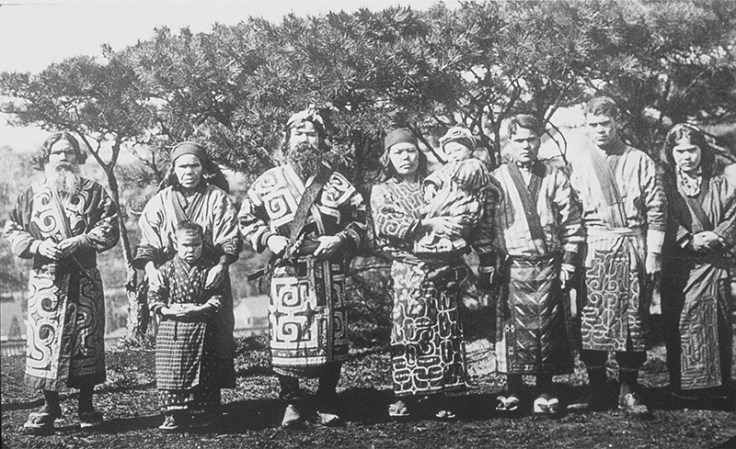 a group of the ainu people native to Japan.