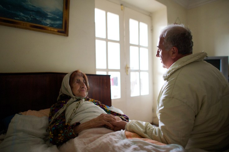 an armenian man interviews his mother about their family tree.