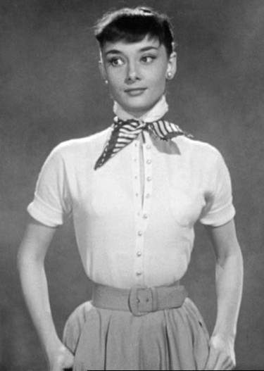 Audrey hepburn, who influenced 1950s fashion