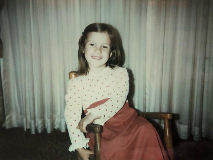 Diane as a little girl.