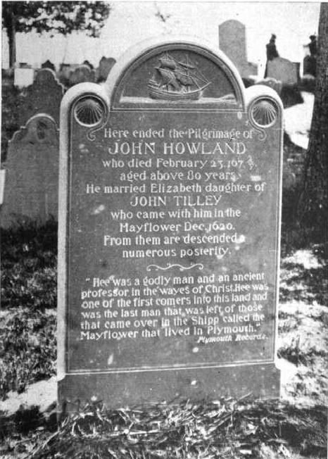 John Howland grave