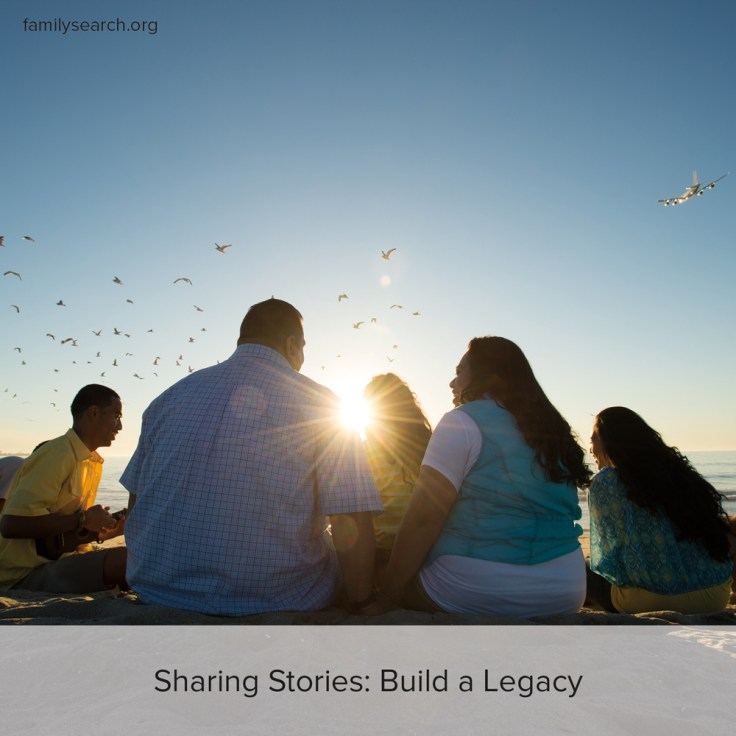 Learn how you can share family stories to strengthen your family.