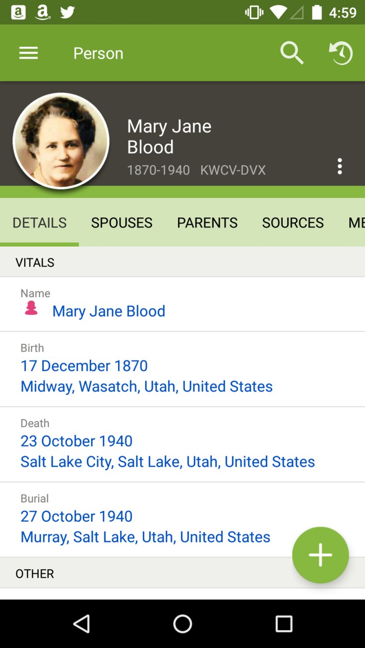 DIY: Use the FamilySearch Memories app to record audio of your family history.