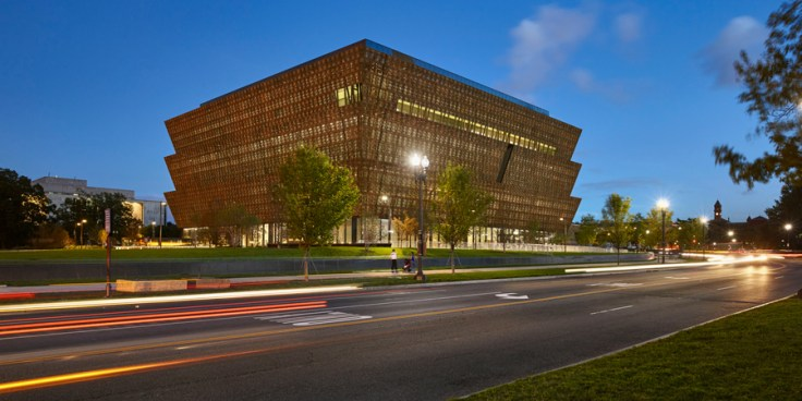 Building of National Museum of African American History and Culture, a top Black History Museum