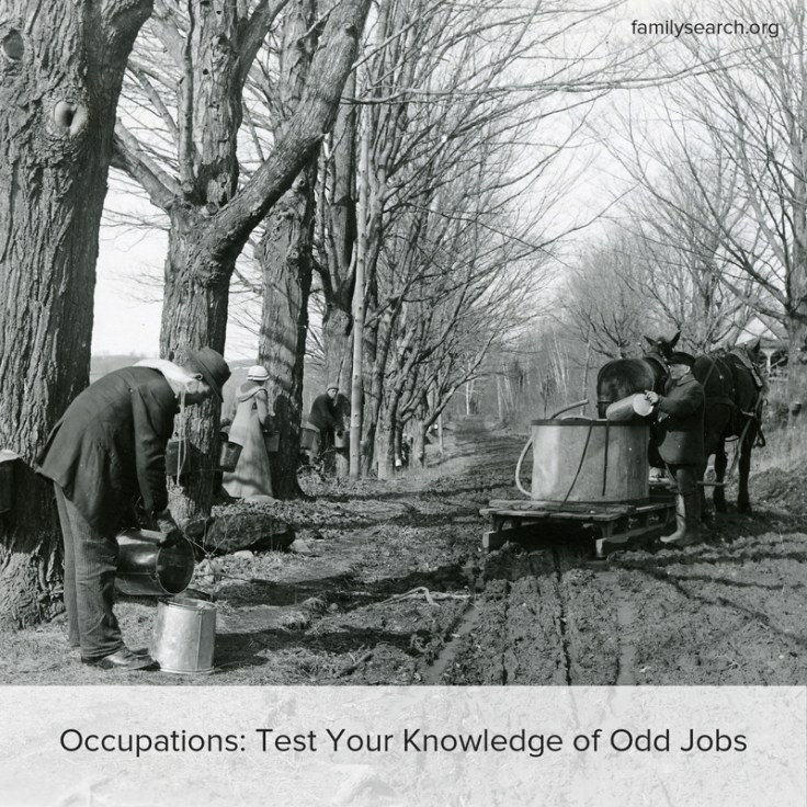 Test your knowledge of these extinct jobs.