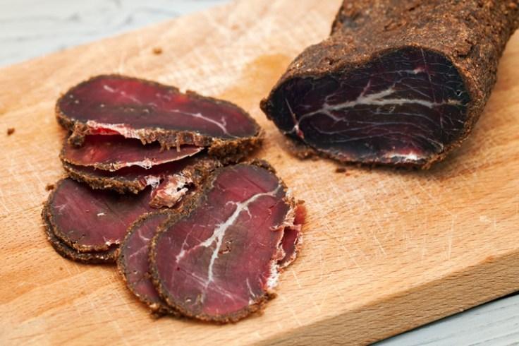 Armenian cured meat.