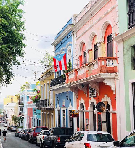 a street in puerto rico.