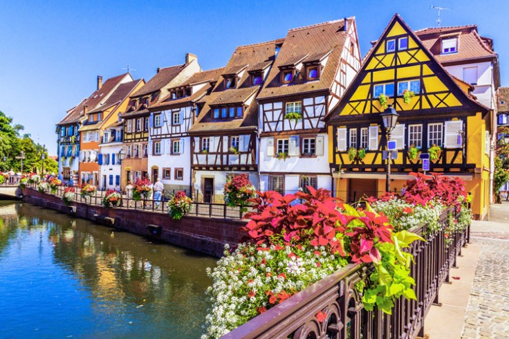 houses in Strasbourg, france