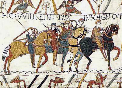 a historic tapestry of a battle from the united kingdom