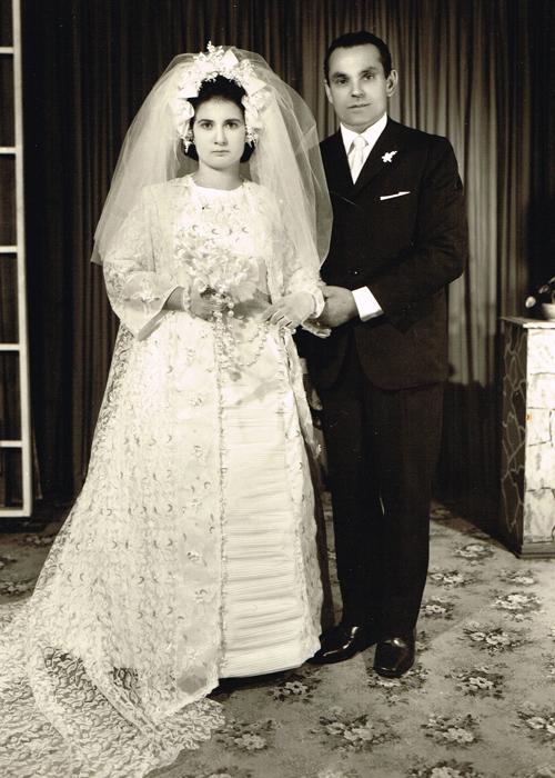 Wedding in São Paulo, Brazil, 1969.