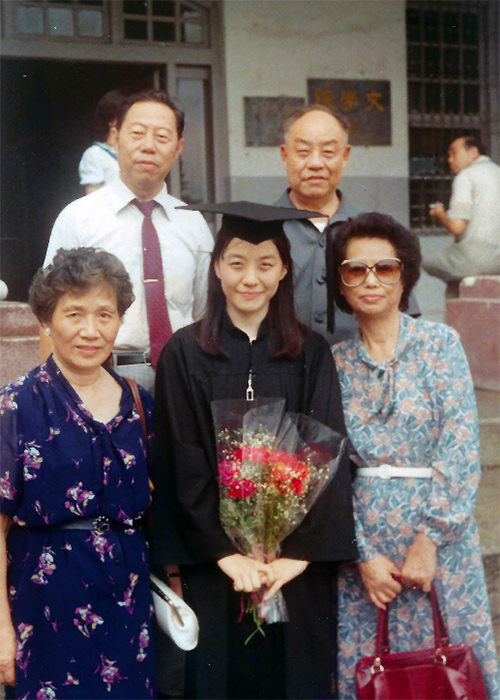 Christine Chiang graduated from University of Georgia with family by her side.