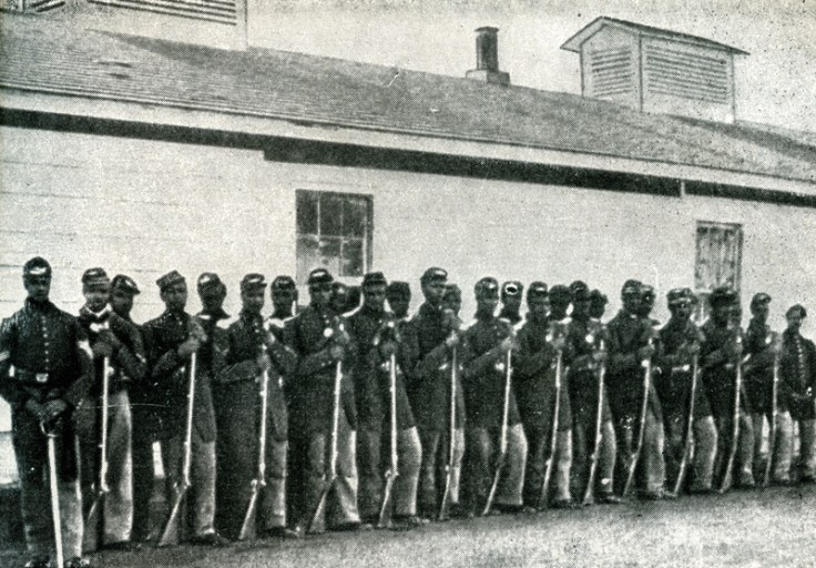an african american battalion during the civil war.