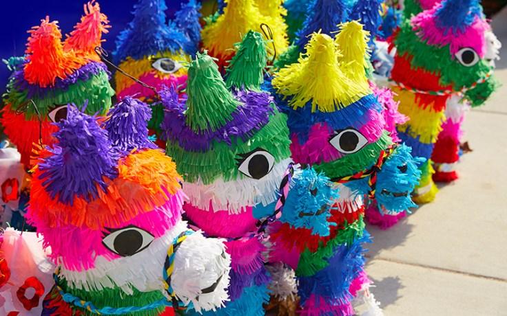 Colorful Piñatas