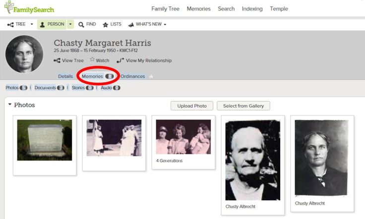 How to use the family tree on FamilySearch.
